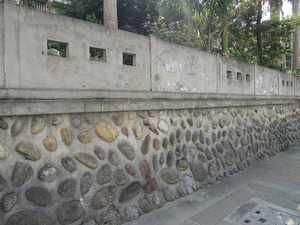 Hualien Harbor Elementary School Wall Remains