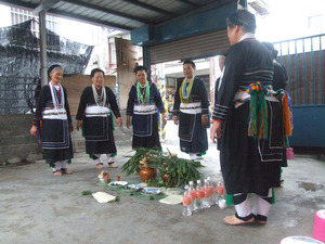 Shaman's ceremonial rites of the Liluo branch of the Amis Tribe, Dongchang Village, Jian Township, Hualien County