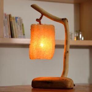 漂流木燈-絲瓜