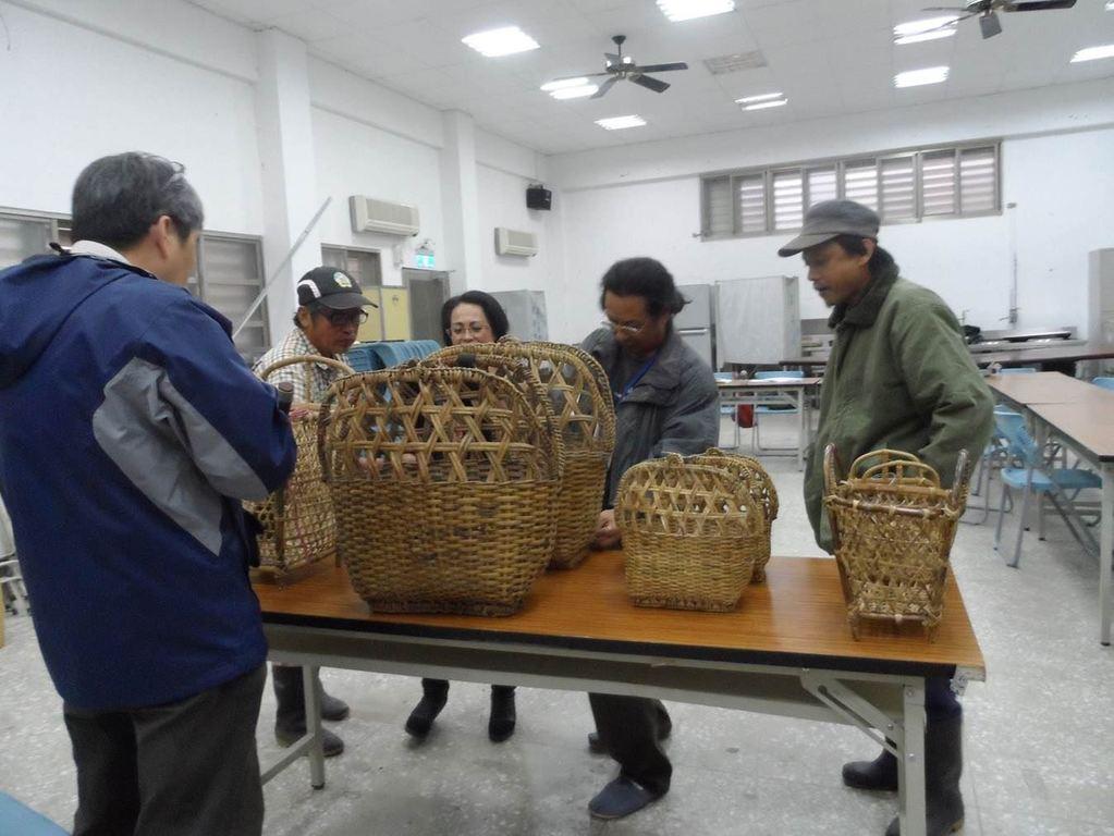 賽德克族傳統籐編工藝