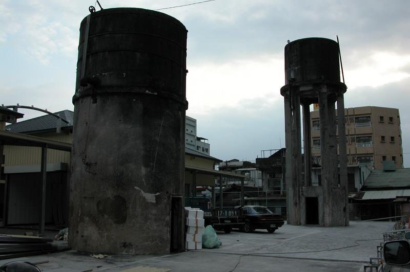前花蓮火車站加水塔