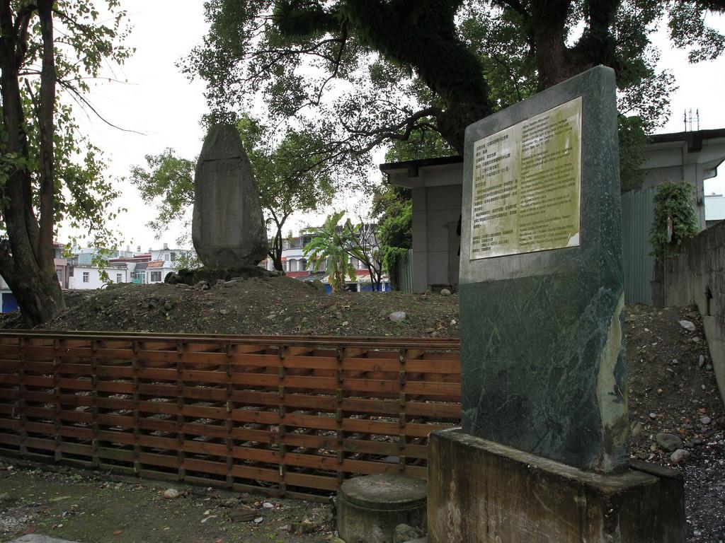 吉野拓地開村紀念碑現況。拍攝:黃家榮