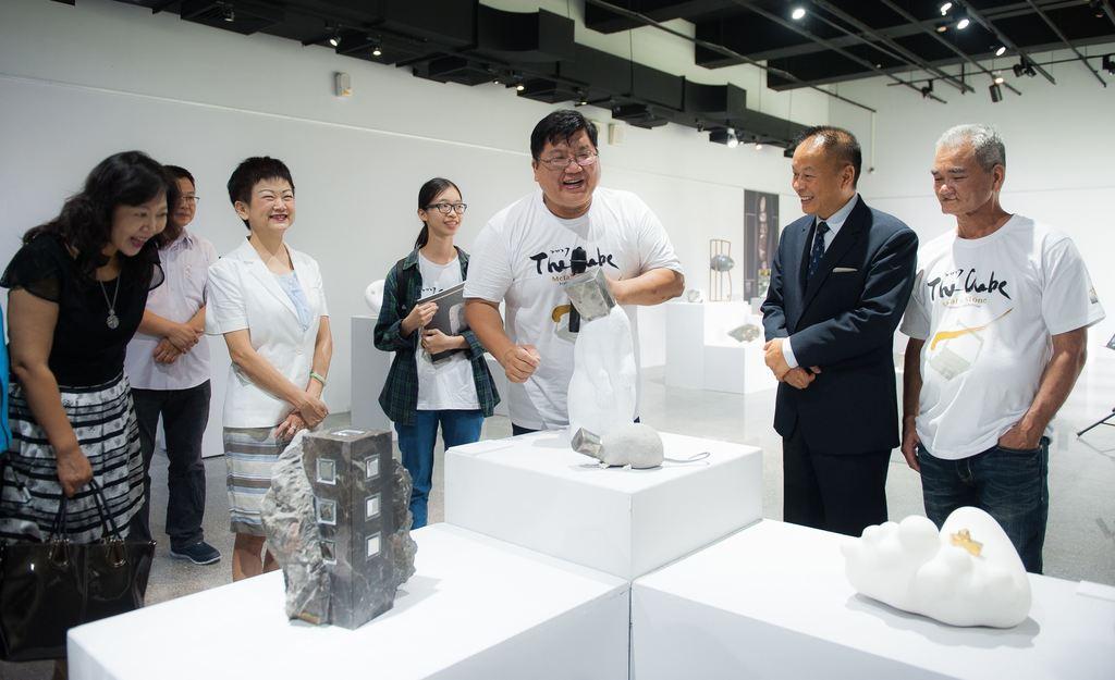 7月3日開幕茶會作品導覽