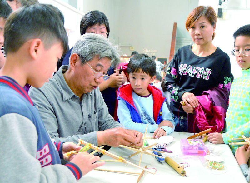 花蓮縣106年度文化薪傳獎得主─王慶祥「童玩DIY親子活動」(已報名額滿)(1)