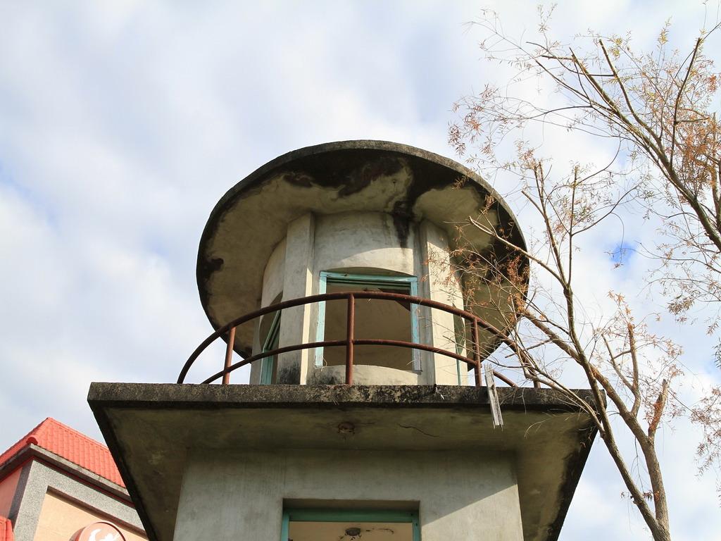 花蓮舊監獄遺蹟-明智街口處瞭望台三樓特寫。  拍攝:黃家榮