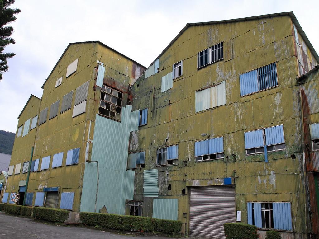 花蓮糖廠製糖工場廠房一景。拍攝:黃家榮