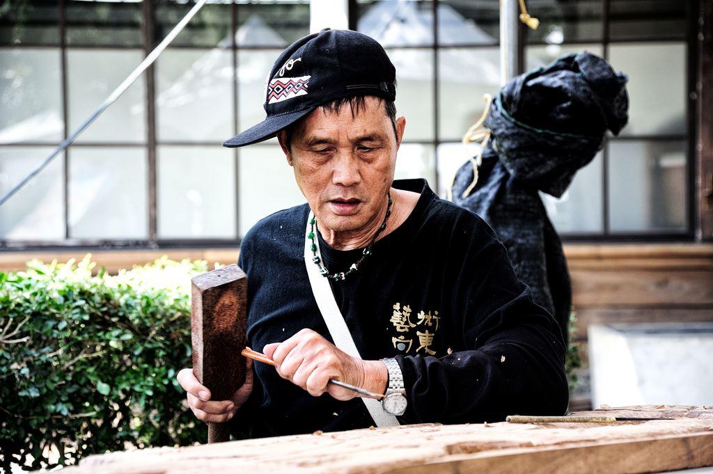 藝術家林阿隆