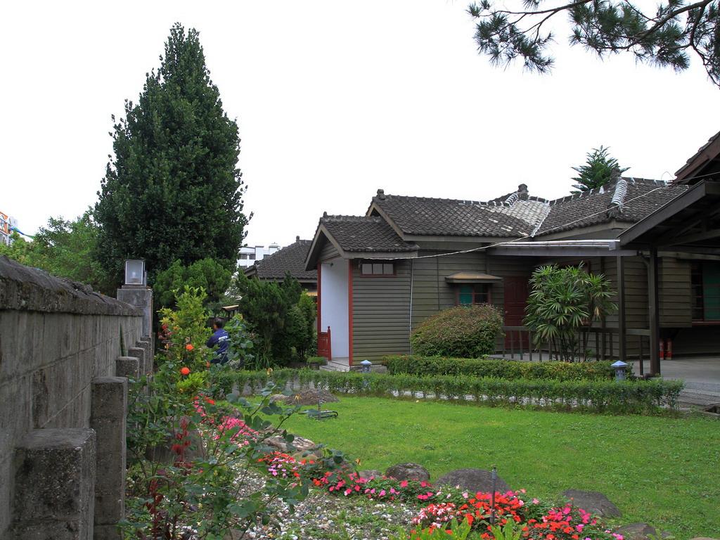 台肥招待所內之庭園造景。拍攝:黃家榮