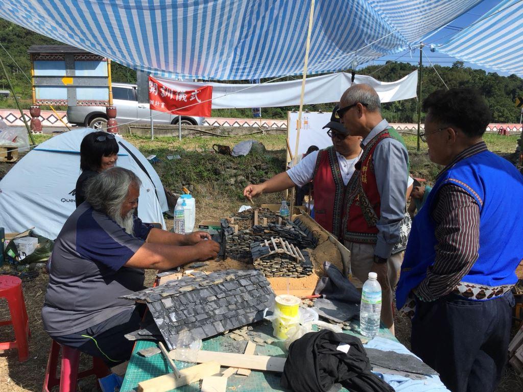 拉庫拉庫溪流域布農族傳統營建技術傳習結訓典禮(2)