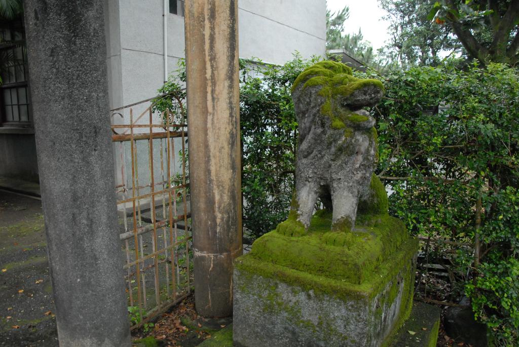 新城神社舊址                              中國科技大學 提供