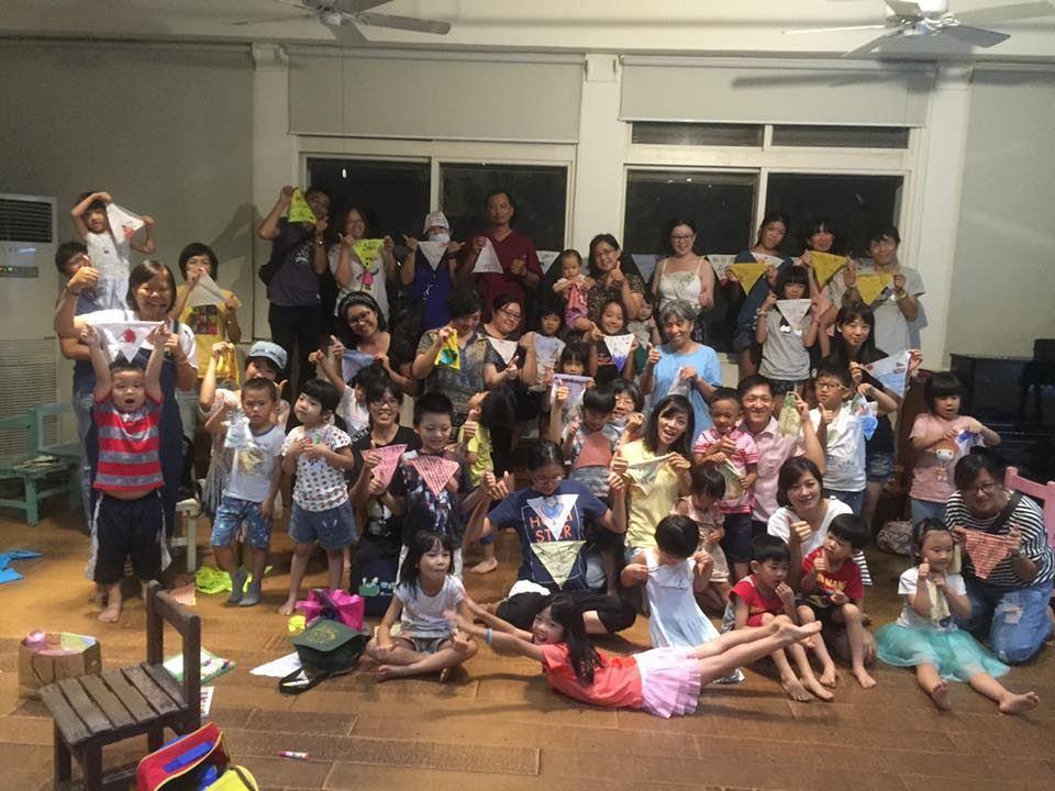 花蓮市公所-「回藍‧海是生活節」三角旗工作坊