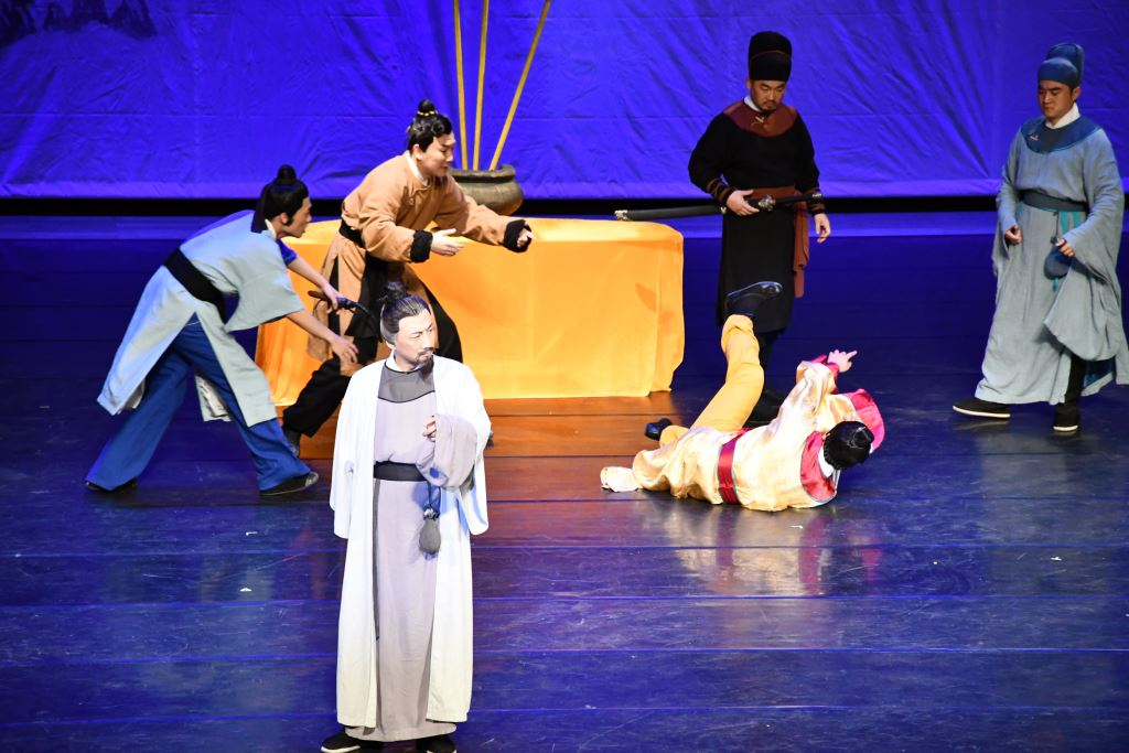 廣東省話劇院舞台劇《韓文公》交流演出(4)