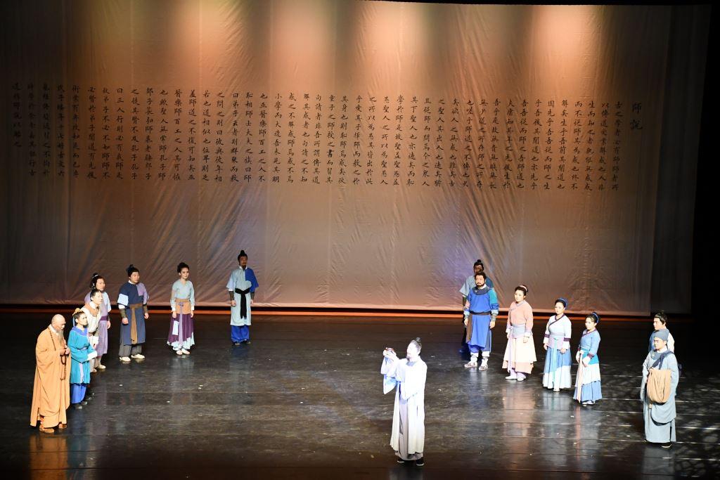 廣東省話劇院舞台劇《韓文公》交流演出(7)