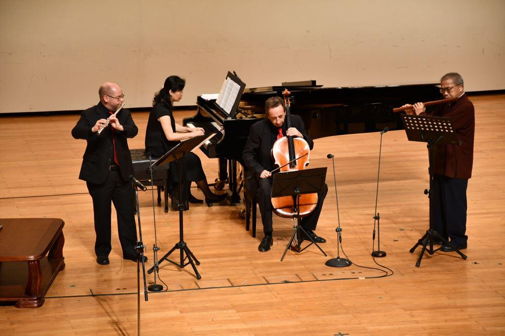 台灣品仔仙V.S. 歐洲魔笛——陳中申與德國皮亞佐拉三重奏