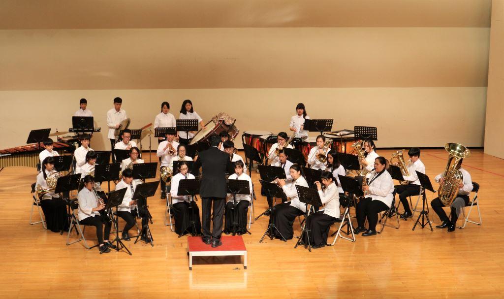 106學年度花蓮高商國、管樂音樂成果發表會