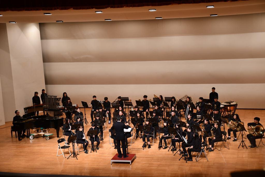 106學年度花蓮高商國、管樂音樂成果發表會(1)