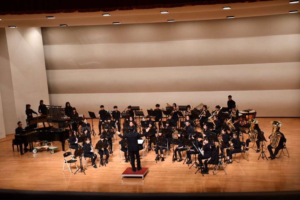 106學年度花蓮高商國、管樂音樂成果發表會(2)