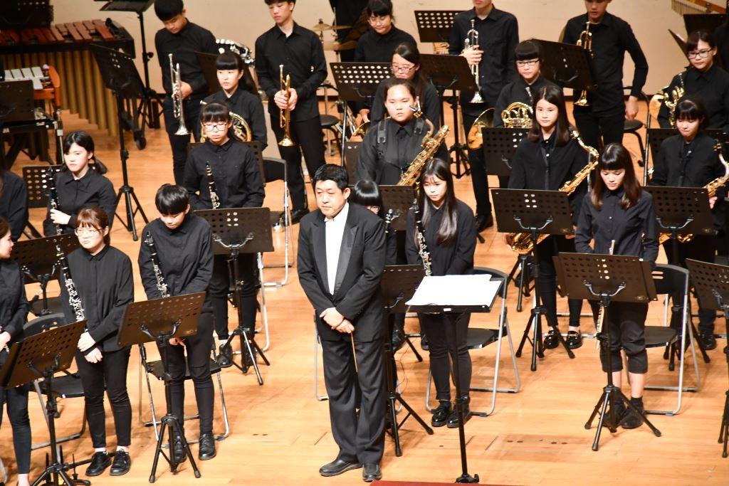 106學年度花蓮高商國、管樂音樂成果發表會(6)