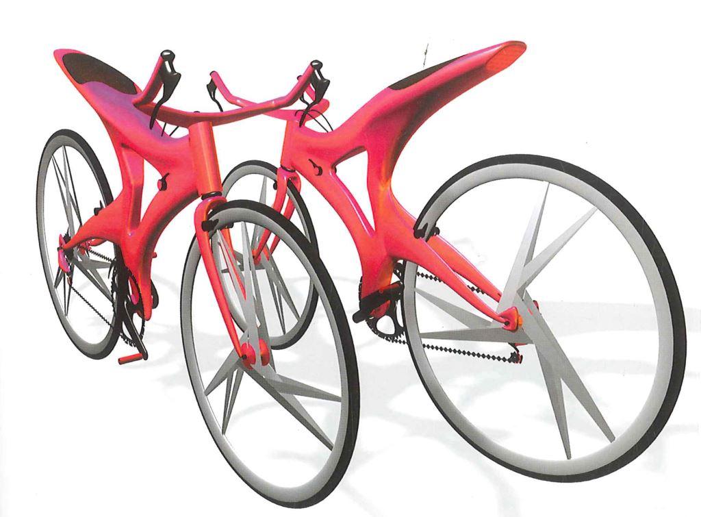 新一代腳踏車3D表現圖-張家寧.柯凱仁