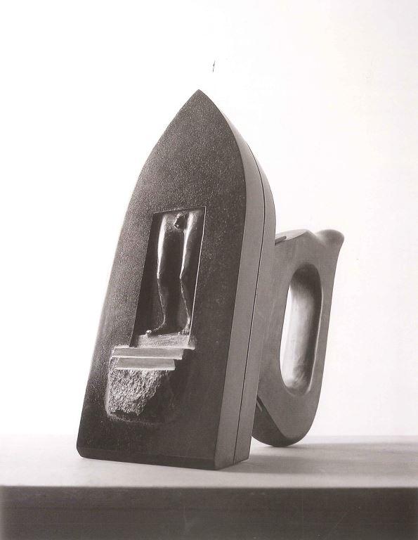鄉愁─如平燙時的重力(二) 黑花崗、木、鐵
