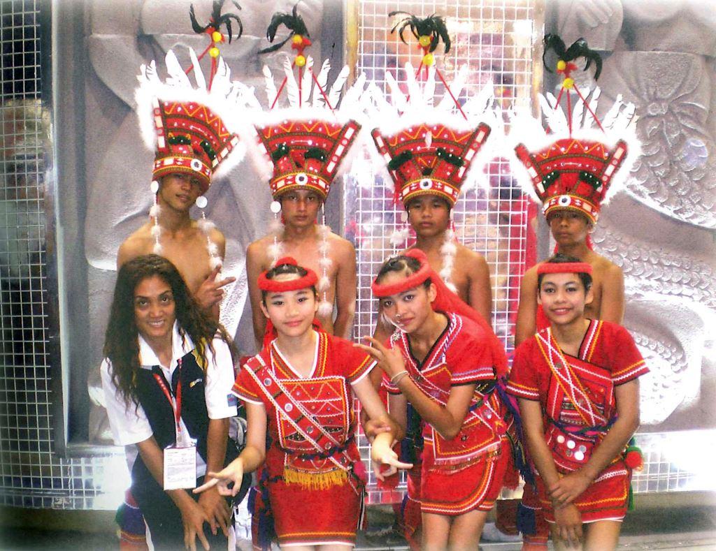 帶隊參加2008年香港國際旅展