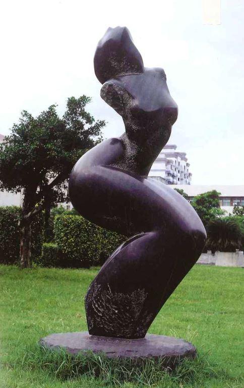 舞者之二 1997 黑花崗石