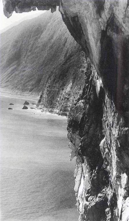 懸崖峭壁(清水斷崖) 1961