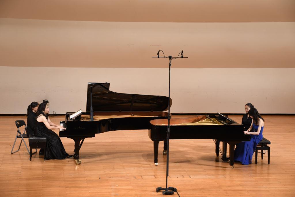 《雙鋼琴的對話》王敏芳、王家榆雙鋼琴音樂會(2)