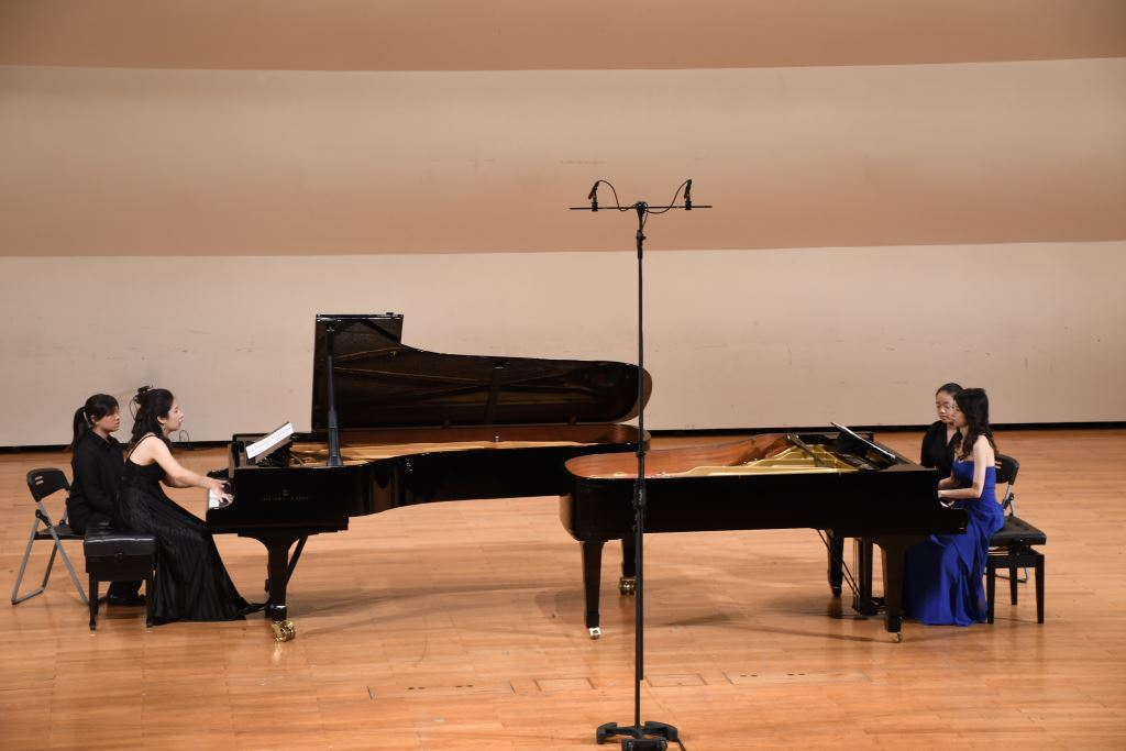 《雙鋼琴的對話》王敏芳、王家榆雙鋼琴音樂會(5)