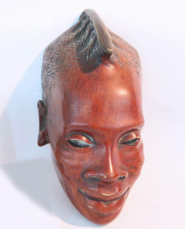面具(棕色)