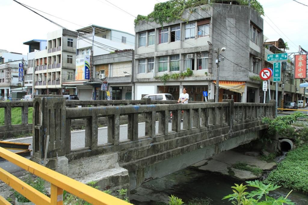 第二福住橋位於成功街處。        黃家榮先生 拍攝