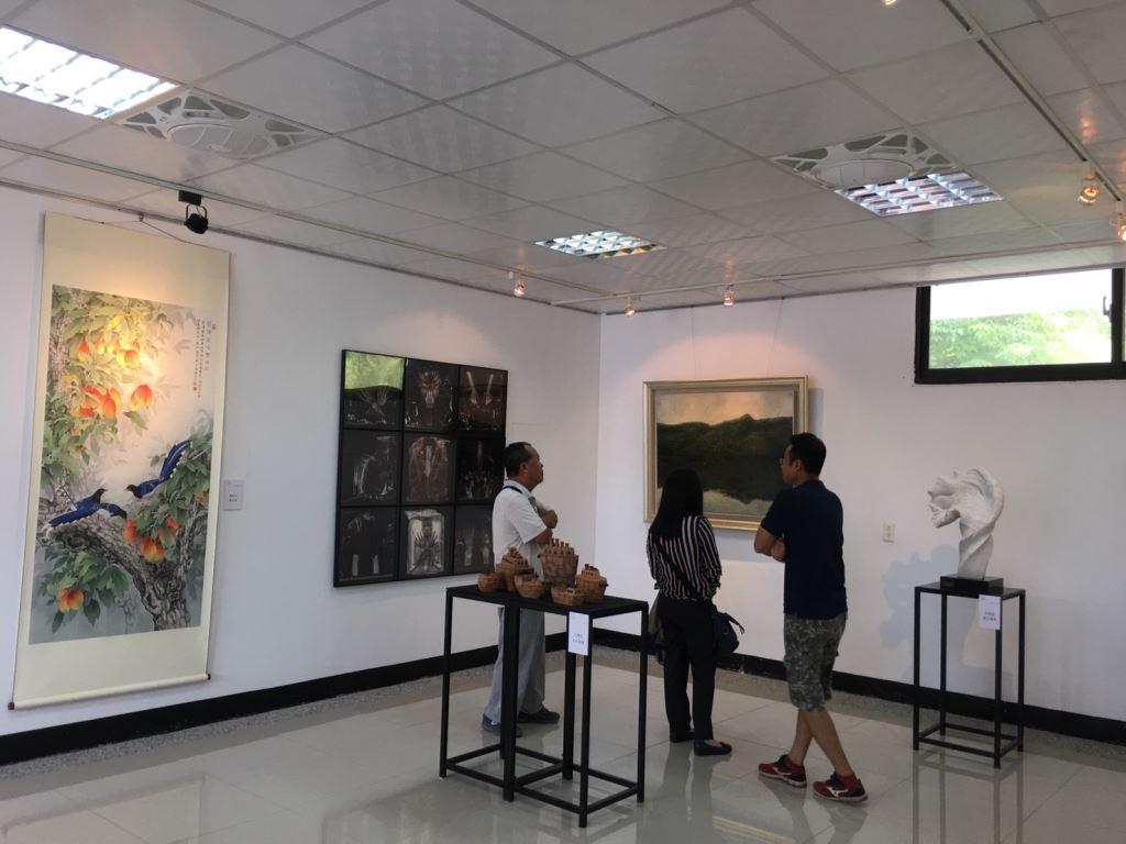 2018花蓮美術獎得獎作品首次巡展至玉里