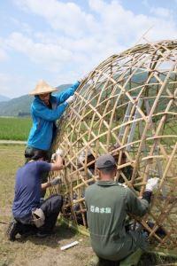 更密實的竹結構-齊力編織