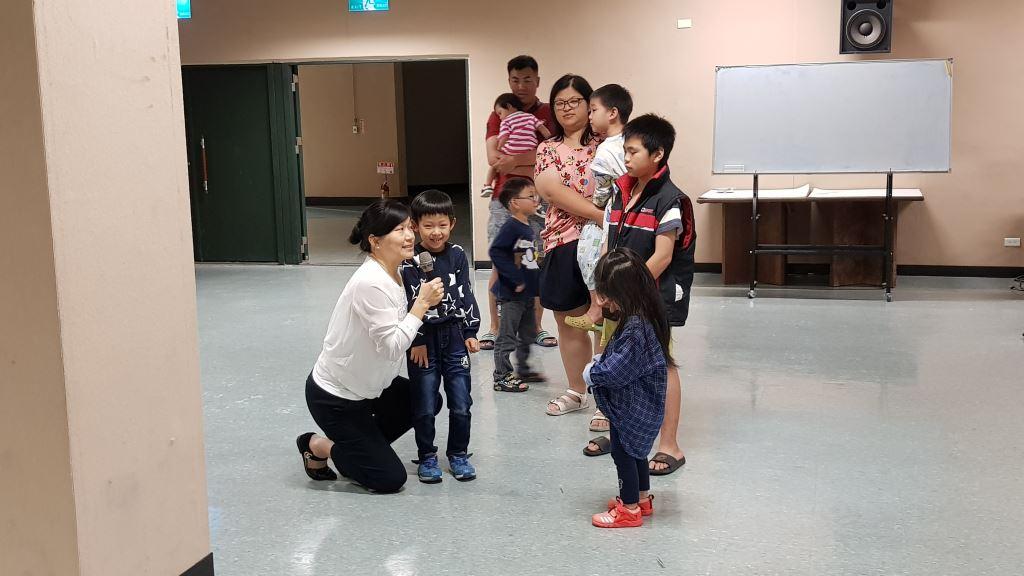 文化局邀楊美美講座-閱讀寶貝欣生活(4)