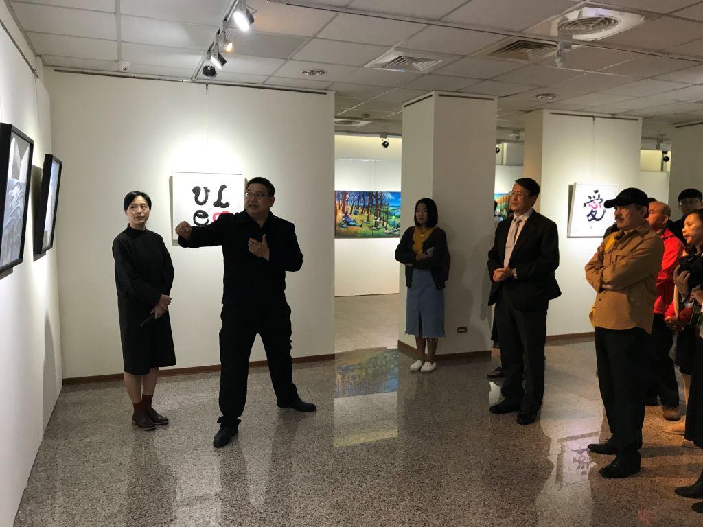 東華大學藝術與設計學系教授聯展(3)