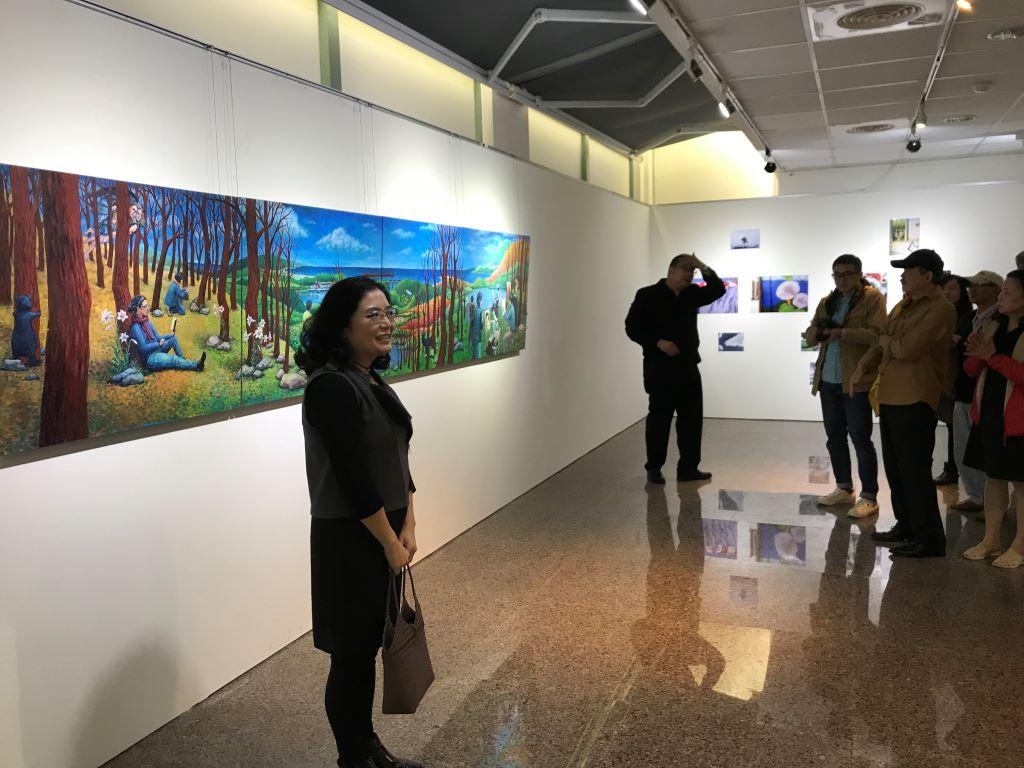 東華大學藝術與設計學系教授聯展(4)