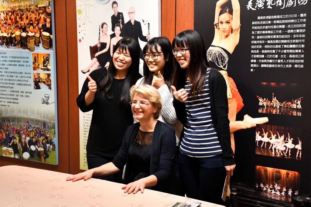 台灣絃樂團與德國小提琴家維特哈絲(1)