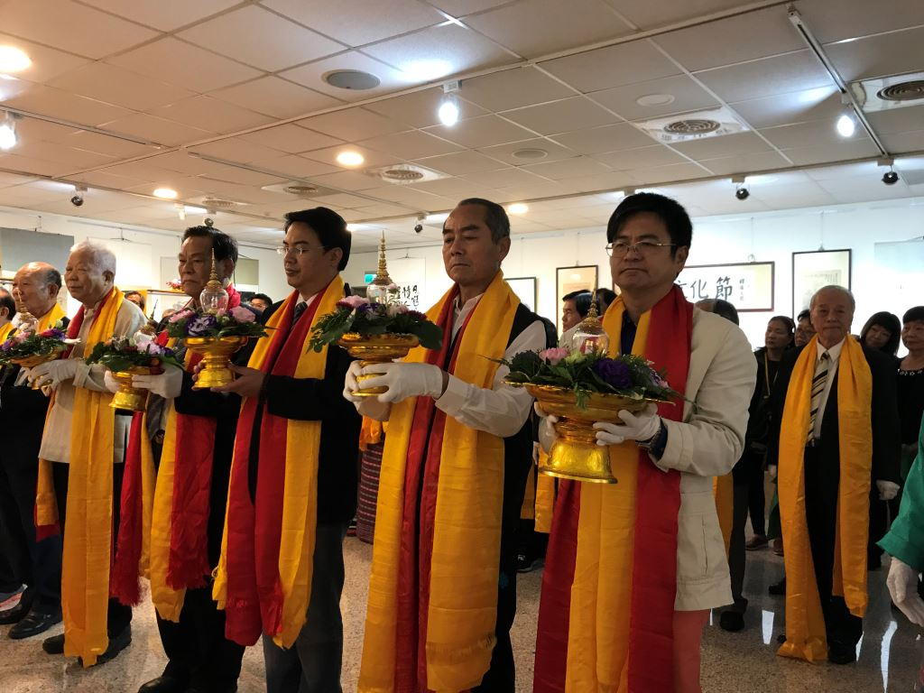 「第八十三屆佛陀與諸大弟子舍利文化與藝術世界大展」(1)