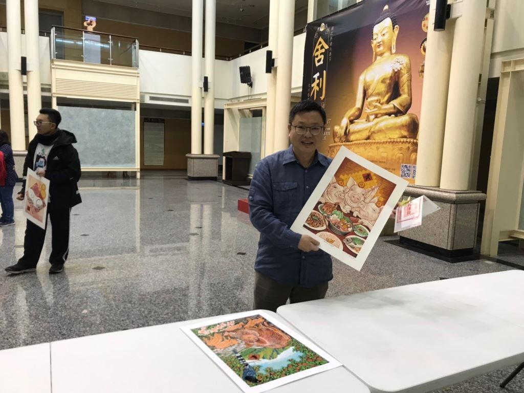 「諸事大吉-豬年年畫特展」版印年畫免費索取,數量有限,索完為止!(4)