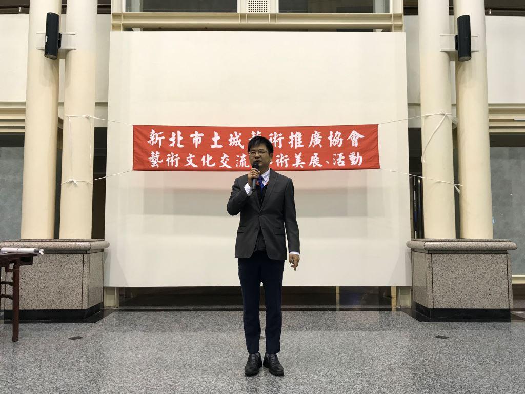 「藝遊雅集」〜108年新北市土城藝術推廣協會-會員聯展(2)