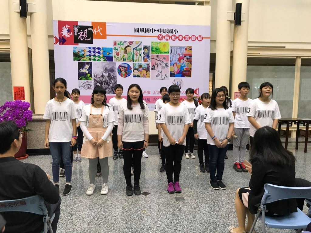 107學年度花蓮縣國中小美術班畢業聯展(4)