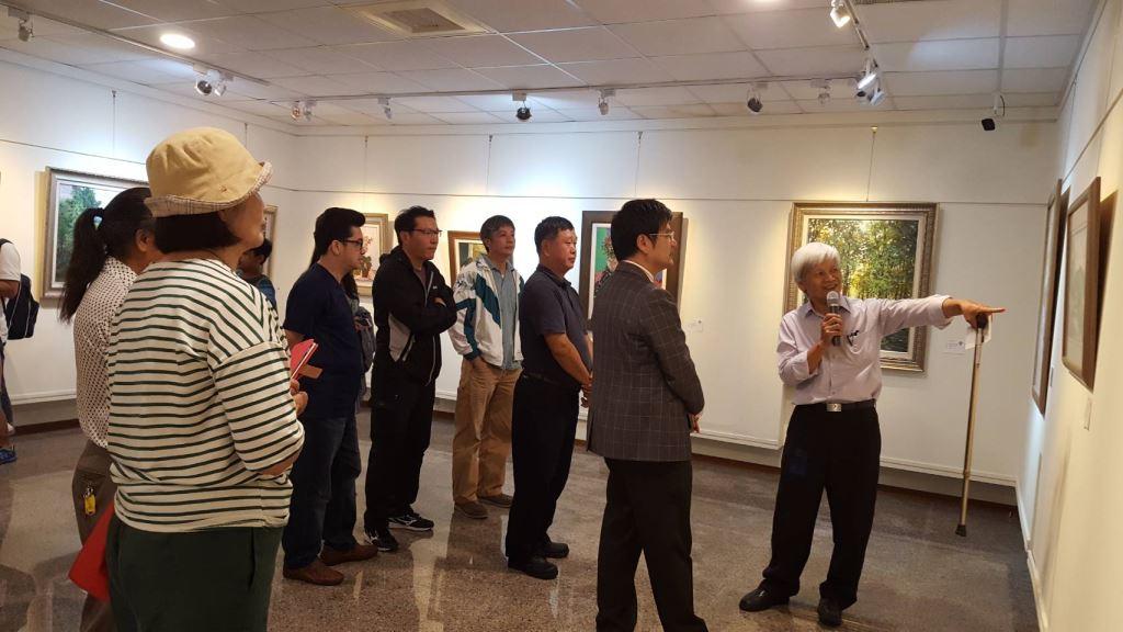 108年花蓮縣七腳川西畫研究會會員展(2)