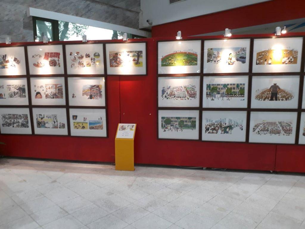 「時光小學開學了-穿越臺灣童年時光長廊」繪本畫展