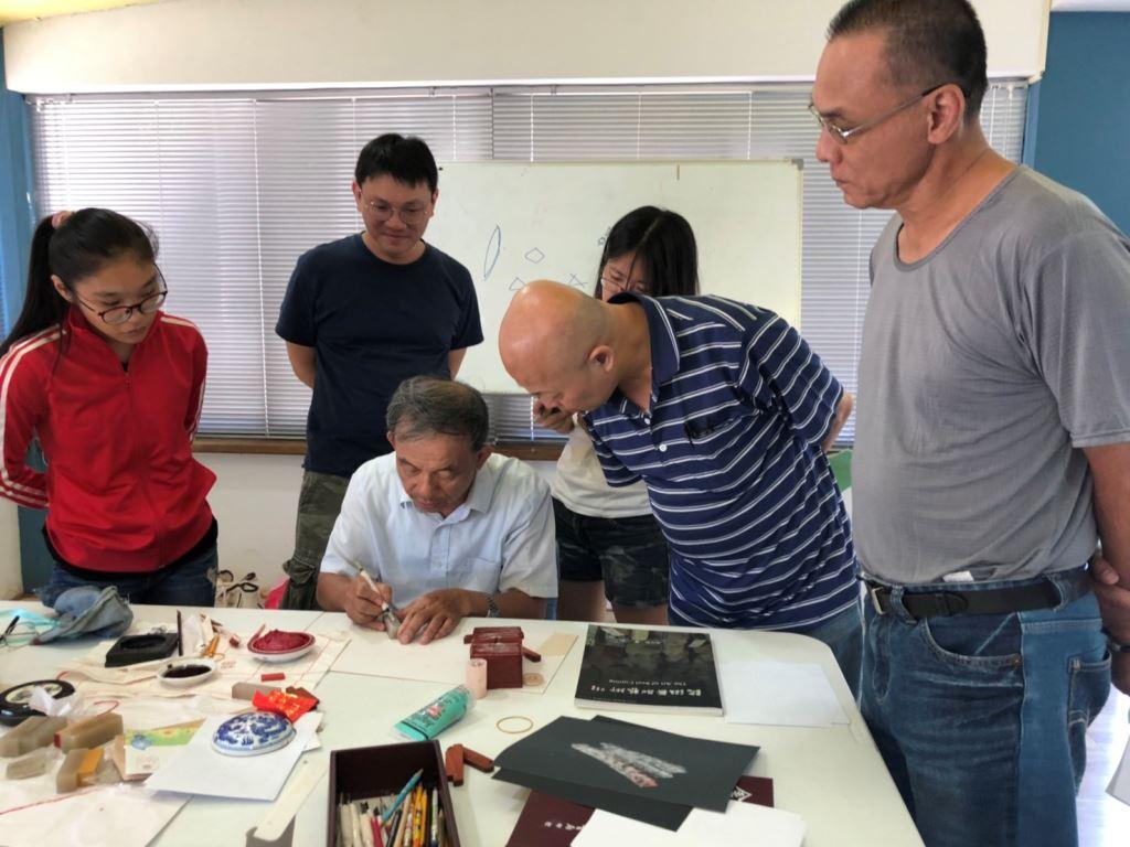 108年篆刻傳承的故事-手刻印章研習