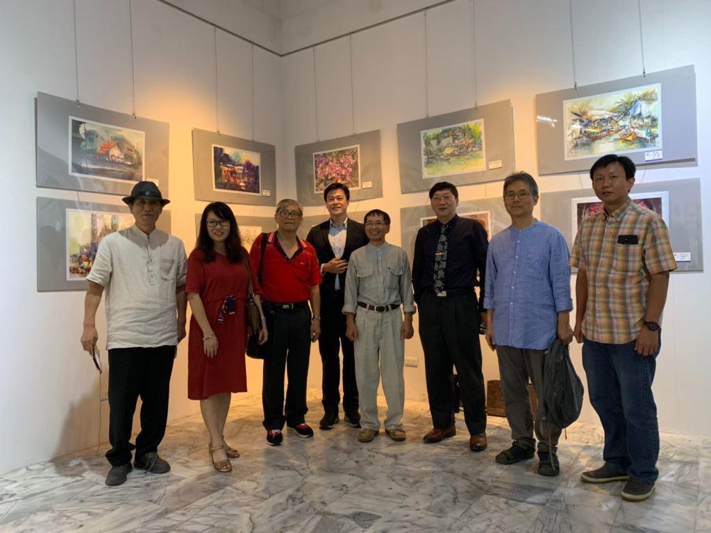 「2019第一屆亞東6國精英國際水彩畫家聯合展」(4)