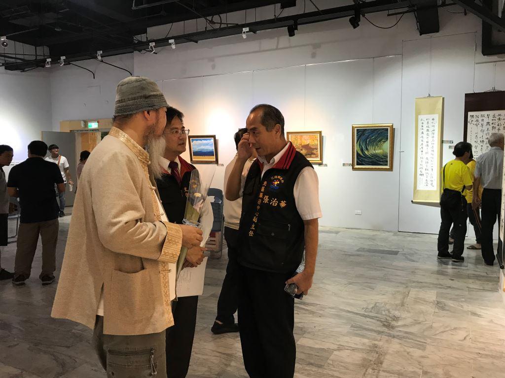 吉安國中畢業39年校友創藝聯展(3)
