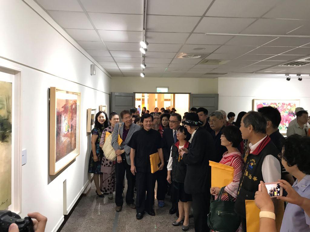 東西融合 開創新境─陳正雄抽象藝術展(2)