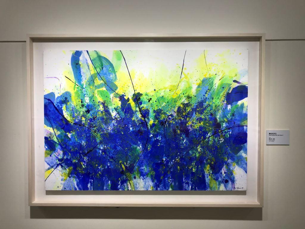 東西融合 開創新境─陳正雄抽象藝術展(6)