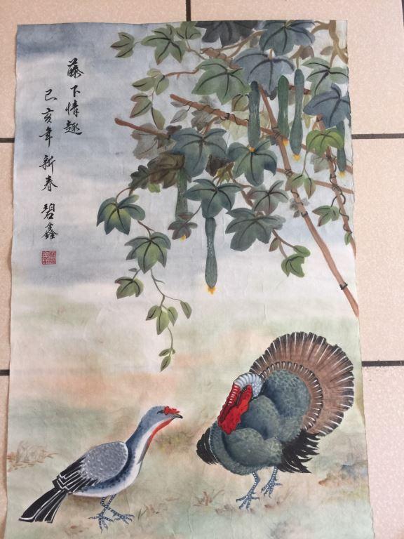 張石居「墨彩調丹」師生聯展(4)