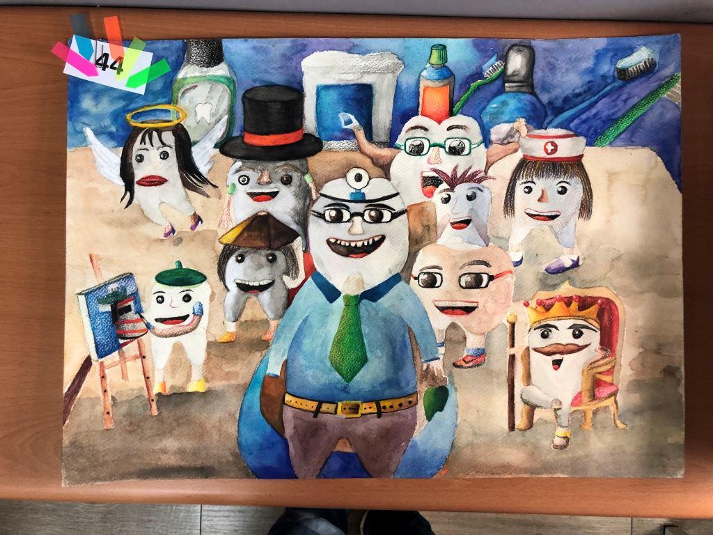 與愛的距離-全國特殊需求者「愛牙護齒保健康」繪畫比賽入選作品展(8)